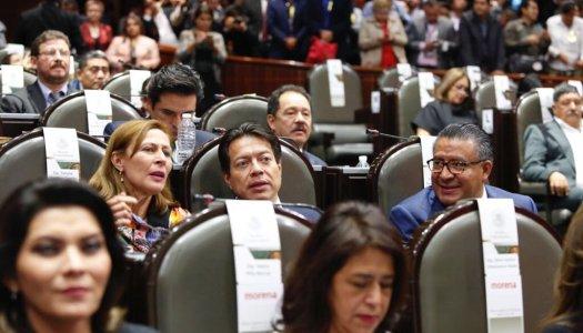 Crece aplanadora de Morena en el Congreso; cerca de mayoría absoluta