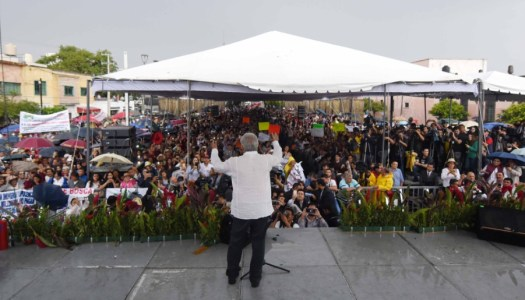 Crónica de una alegría desbordada: la gira de agradecimiento de AMLO