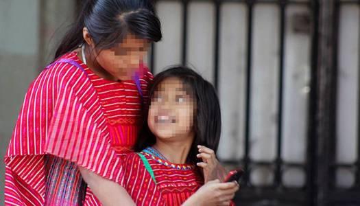 Niñas indígenas, el 45% de los menores víctimas de trata