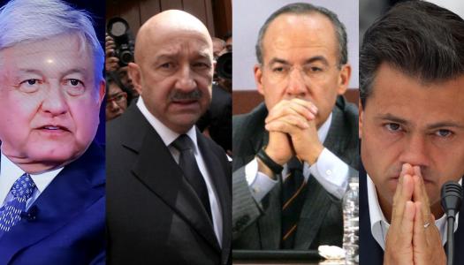 AMLO: Salinas, Calderón y EPN serán enjuiciados si la gente así lo decide