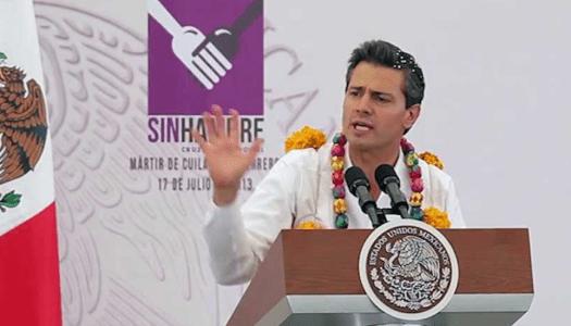 Cruzada Nacional contra el Hambre, un fracaso más de Peña Nieto