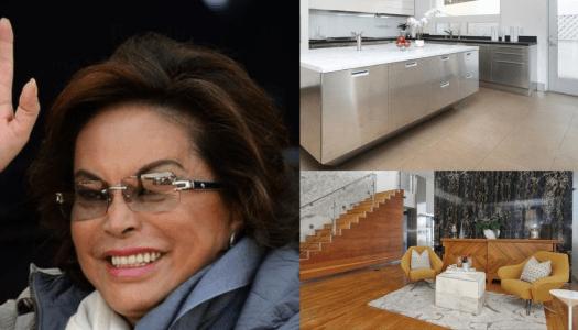 Elba Esther pone en venta dos de sus casas en 170 millones de pesos