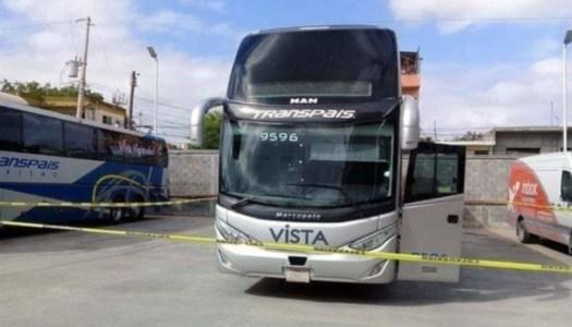 Anuncian búsqueda de pasajeros secuestrados en autobús en Tamaulipas
