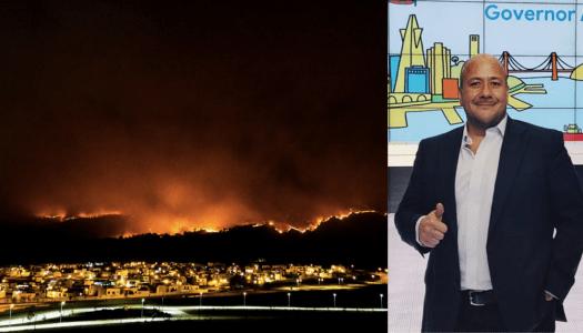 Graves incendios en Jalisco y su gobernador se va de vacaciones