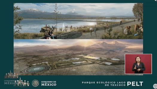 Harán gigantesco parque donde se construía el aeropuerto de Texcoco