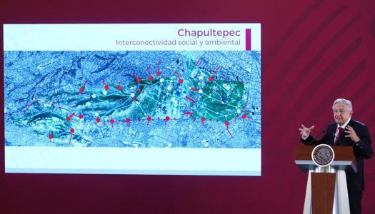 Chapultepec se va a poner más bonito y el desarrollo más allá del crecimiento