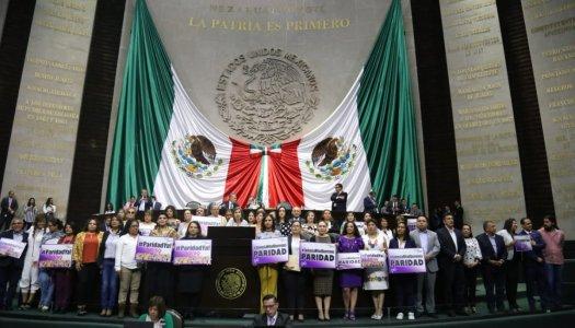 ¡Igualdad! Legislativo aprueba paridad en todo el Estado mexicano