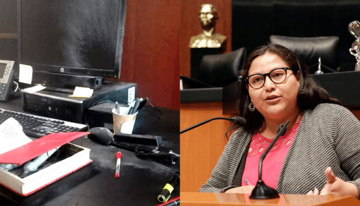Atentan con libro-bomba contra la senadora de Morena, Citlalli Hernández