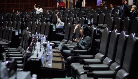 PRI, Verde y PAN tienen los diputados más faltistas del Congreso
