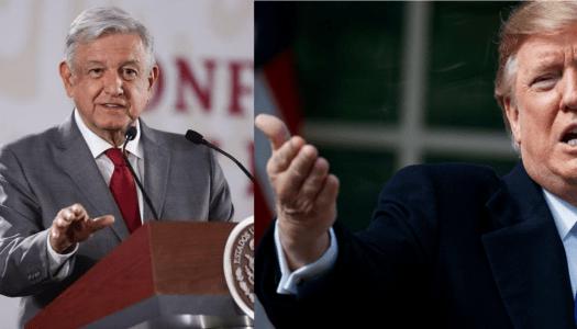 Agradece Donald Trump a AMLO por acuerdo bilateral