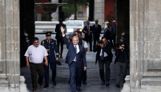 AMLO vivirá ya en Palacio Nacional