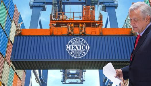 Con AMLO, exportaciones crecieron en mayo 3.94 por ciento: INEGI