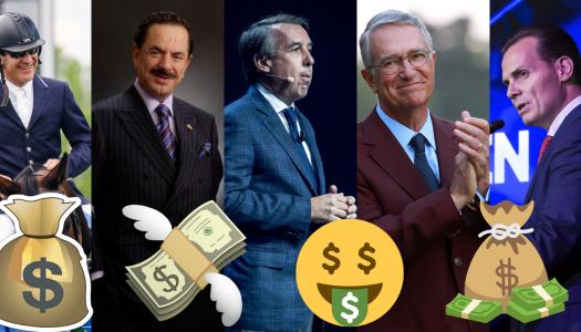 Estos son los magnates de los medios que se enriquecieron con EPN