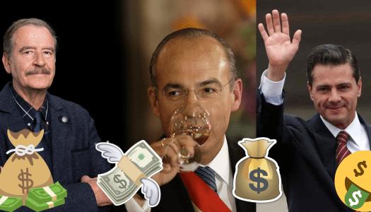 Contratistas corruptos de Fox, Calderón y EPN, deben 2 mil 300 millones