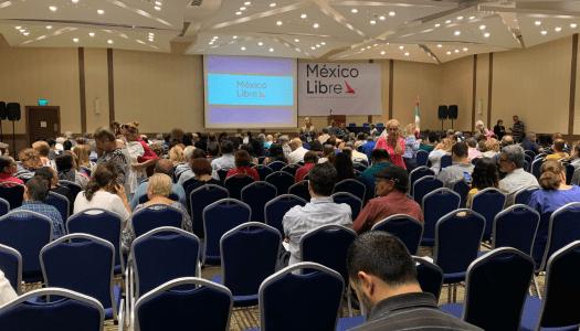 México Libre se hunde: el difícil acto de juntar 300 personas en la región más calderonista del país