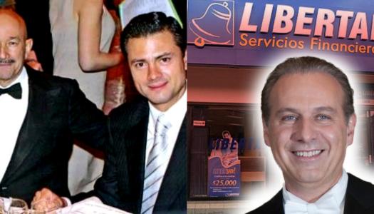 Salinas y Peña Nieto, los verdaderos dueños de Caja Libertad