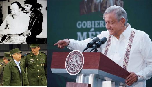 AMLO destroza a Calderón; lo compara con el comandante Borolas