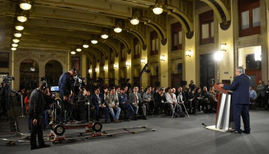 Conferencia de prensa mañanera de AMLO (23/8/2019)   En vivo