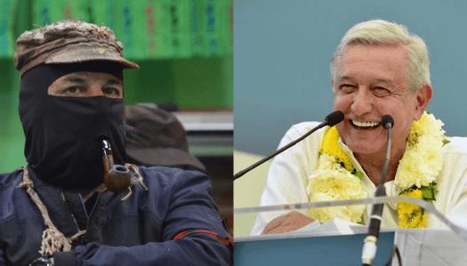 """Marcos se burla de AMLO; lo llama """"amado líder"""" e """"iluminado"""""""