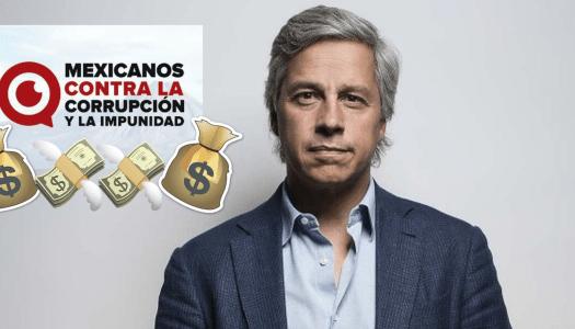 """Claudio X. González recibe de """"donadores anónimos"""" 50 mdp al año para MCCI"""