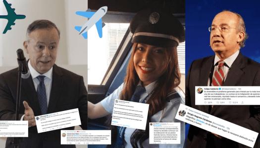 Oposición sale en defensa de piloto que pidió tirar bomba en el zócalo