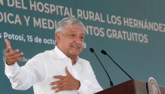 Conferencia de prensa mañanera de AMLO (16/10/2019) | En vivo