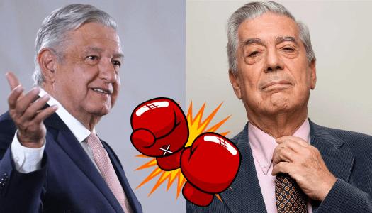 """AMLO trollea a Vargas Llosa: """"ha involucionado"""""""