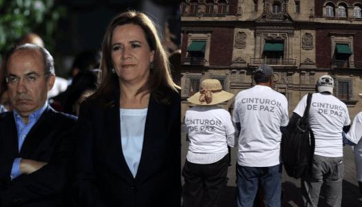 Calderón y Margarita estallan porque el cinturón de paz funcionó