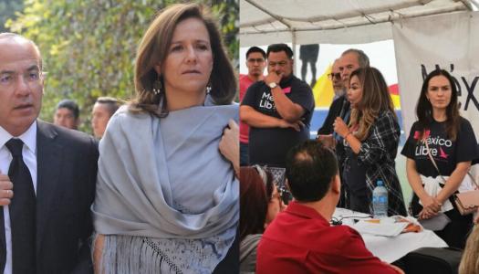 Calderón y Margarita vuelven a fracasar con su México Libre en Tijuana