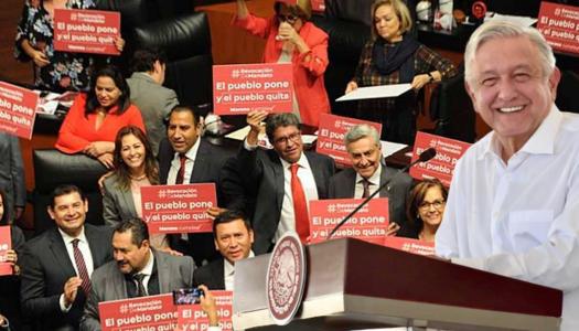 Senado aprueba promesas de AMLO: habrá consulta y revocación de mandato