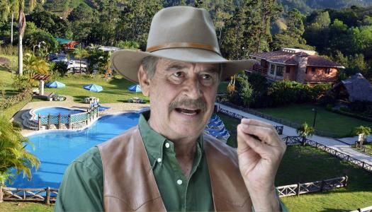Fox junto a otros políticos conspira en su rancho para derrocar a AMLO