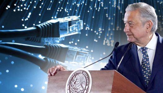 AMLO conectará a todo México con internet en 2021