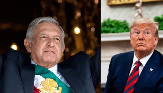 """AMLO a Trump: """"cooperación sí, intervencionismo no"""""""