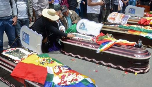 Represión en Bolivia ha dejado 24 muertos y más de 700 heridos
