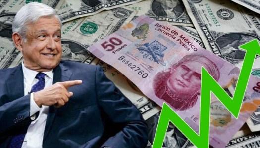 Reservas internacionales con AMLO crecen 599 millones de dólares