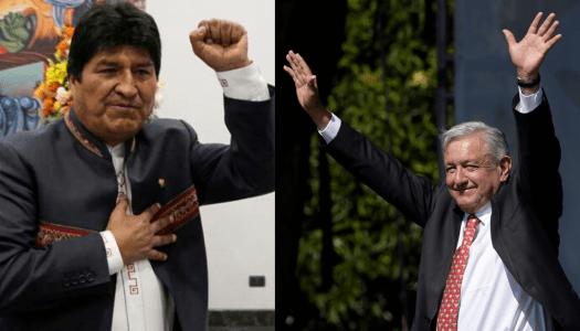 Evo Morales reconoce a AMLO como líder en América Latina