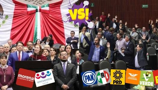 PRIANRDMC, Verde y PT rechazan reducir 50% del dinero a los partidos