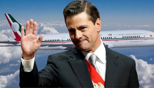 Con estos lujos viajaba Peña Nieto en el avión presidencial