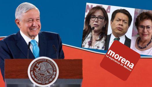 AMLO y su papel en la disputa por Morena