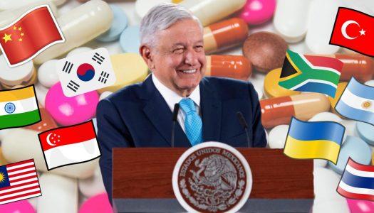 Gobierno de AMLO amplía importación de medicamentos para evitar chantajes