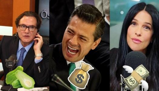 Mario Beteta y Martha Debayle cobraron por comentarios positivos de EPN