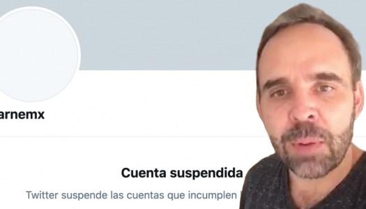 Por fin: Twitter suspende cuenta de Arne aus den Ruthen