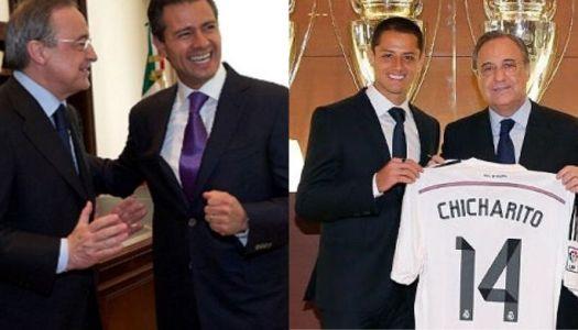 La turbia contratación de 'Chicharito' Hernández por el Real Madrid