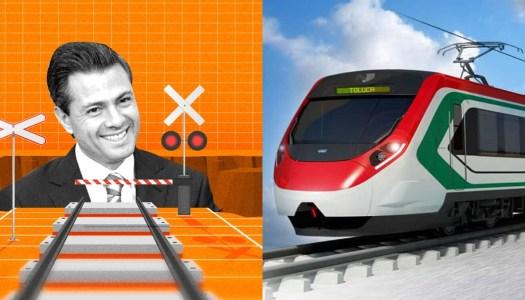 Detectan anomalías de EPN por 600 millones en construcción del Tren Toluca-México