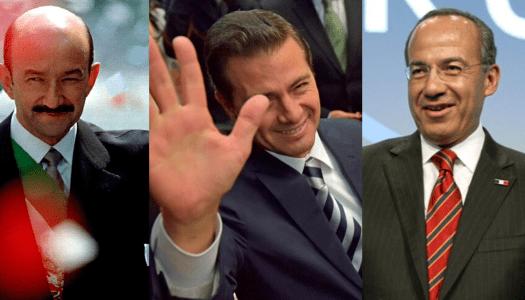 Peña, Salinas y Calderón, los presidentes más corruptos, según encuesta