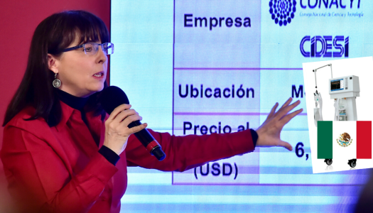 México ya creó y está produciendo ventiladores para enfrentar COVID-19