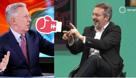 Así se acabó John Ackerman a Joaquín López Dóriga