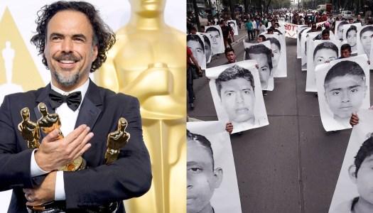 González Iñárritu está trabajando en una película sobre Ayotzinapa