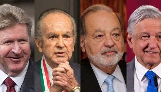 Magnates Slim, Larrea y Baillères respaldan el plan económico de AMLO