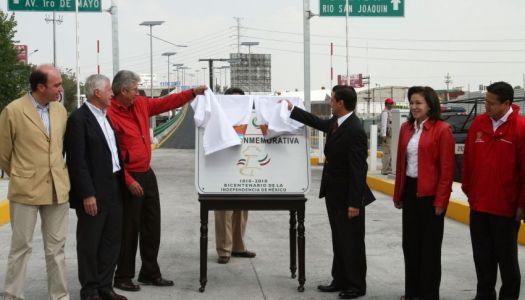 EPN dio millonaria concesión ilegal a OHL del Viaducto Bicentenario